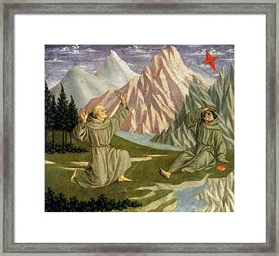 Domenico Veneziano Italian, C. 1410-1461 Framed Print