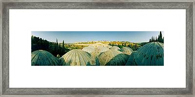 Domes At The Church Of All Nations Framed Print