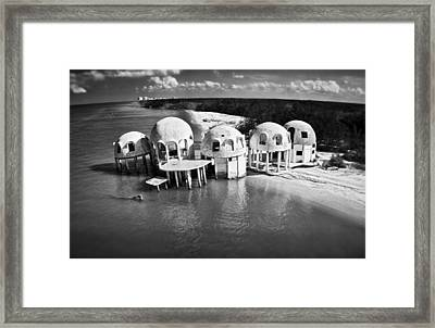 Domes Of Romano Framed Print