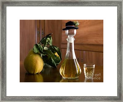 Domestic Table Framed Print by Sinisa Botas