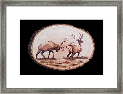 Dominance Framed Print by Minisa Robinson
