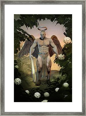 Dominant Angel Framed Print