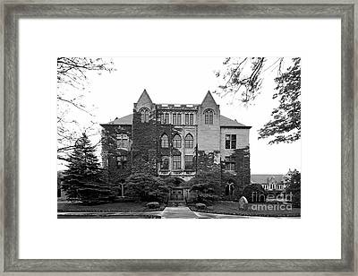 Dominican University Lewis Hall Framed Print