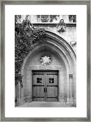Dominican University Lewis Memorial Hall Framed Print