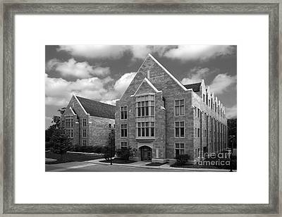 Dominican University Parmer Hall Framed Print