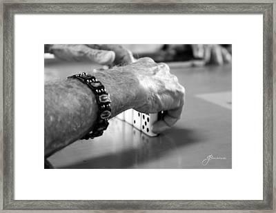 Dominos Framed Print