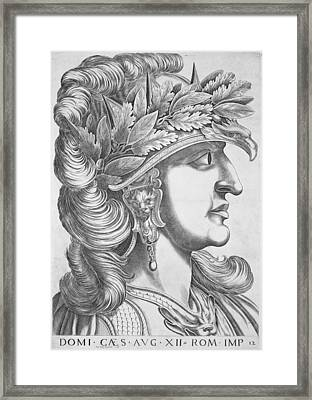 Domitian Caesar , 1596 Framed Print by Italian School