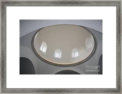 Domkirke's Dome Framed Print by Juan Romagosa