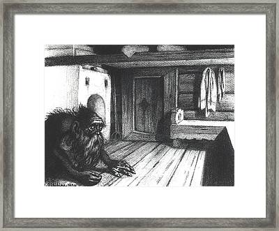 Domovoi, A Spirit Of The House Framed Print