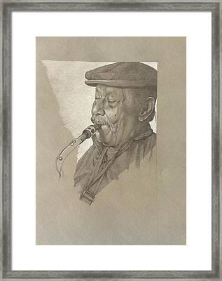 Don Alejandro Cubilla Framed Print