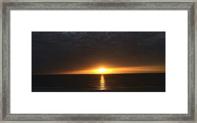 Don Cesar Penthouse Sunset 1 Framed Print