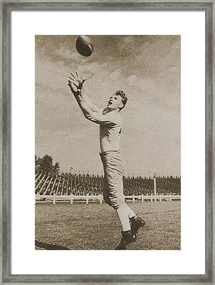 Don Hutson Framed Print by Gianfranco Weiss