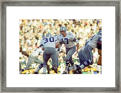 Don Meredith Hands Off Framed Print by Retro Images Archive