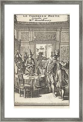 Don Pascale Tears, In The Presence Of Don Henrique Framed Print