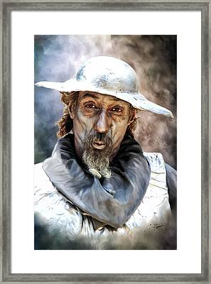Don Quixote Framed Print