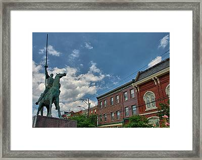 Don Quixote In Philadelphia Framed Print