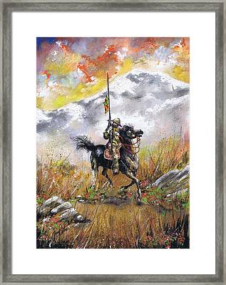 Don Quixote Of La Mancha Framed Print