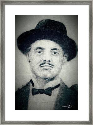 Don Vito Corleone Framed Print