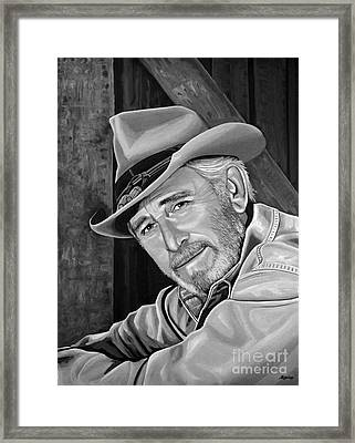 Don Williams Framed Print by Meijering Manupix
