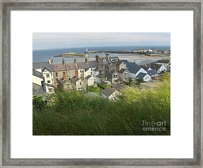 Donaghadee Northern Ireland View From The Moat Framed Print by Brenda Brown