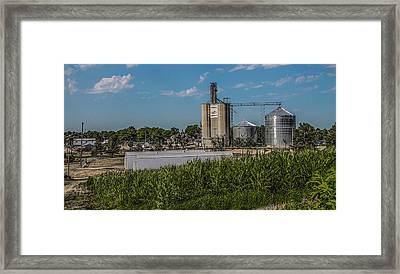 Framed Print featuring the photograph Donahue Iowa by Ray Congrove