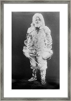 Donald Macmillan, Us Arctic Explorer Framed Print by Science Photo Library