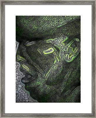 Done By Mark Lopez Framed Print by HollyWood Creation By linda zanini