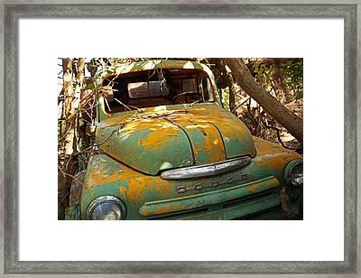 Done Dodge Framed Print
