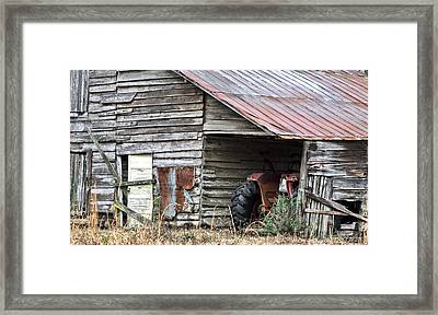 Done For The Day Framed Print by JC Findley