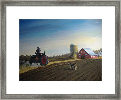 Done For The Day Framed Print by Norm Starks