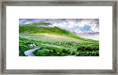 Donegal Hills Framed Print