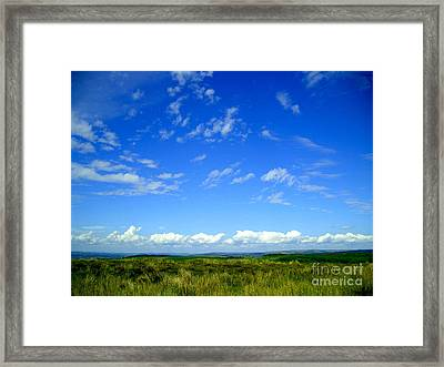 Donegal Scene Framed Print by Nina Ficur Feenan