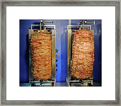 Doner Kebabs Framed Print by Bildagentur-online/mcphoto-schulz