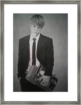 Dongwoon B2st Framed Print