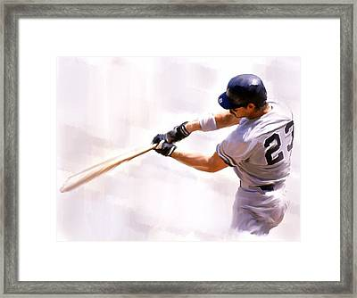 Donnie Ballgame Don Mattingly  Framed Print