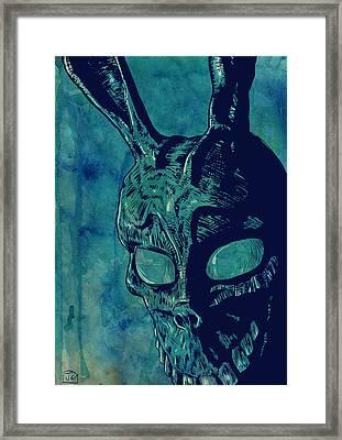 Donnie Darko Framed Print by Giuseppe Cristiano