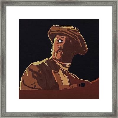 Donny Hathaway Framed Print