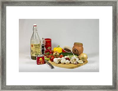 Don's Chilli Con Carne Framed Print by Donald Davis