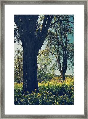 Don't Close Your Eyes Framed Print