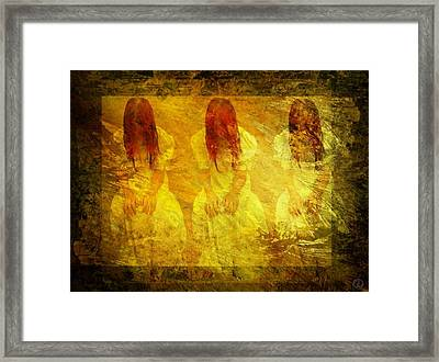 Don't Dare To See The Light Framed Print