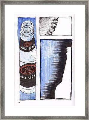 Don't Drink And Drive Framed Print