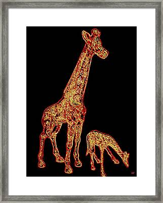 Don't Eat My Initials Framed Print by Will Borden
