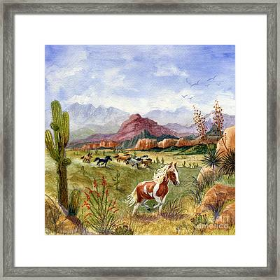 Don't Fence Me In Part One Framed Print