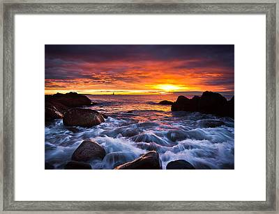 Don't Forget Framed Print by Benjamin Williamson