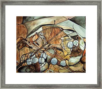 Don't Give Up Framed Print by Laneea Tolley