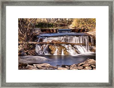 Dont Go Chasing Water Falls 2 Framed Print by James BO  Insogna