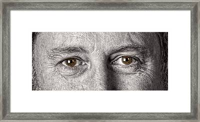 Dont Let The Stars Get In Your Hazel Eyes Framed Print by James BO  Insogna