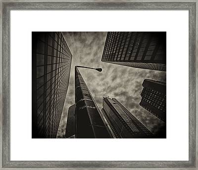 Dont Let Them See You Cry You Can Take It.. Framed Print by Russell Styles