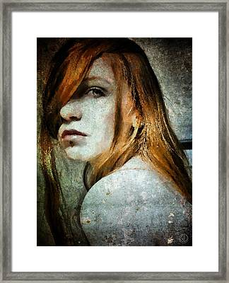 Don't Look At Me Like That Framed Print