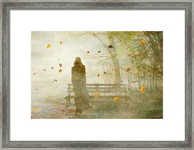 Don't Look Back ... Framed Print by Chris Armytage